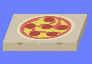 Pizza Delivery coronavirus